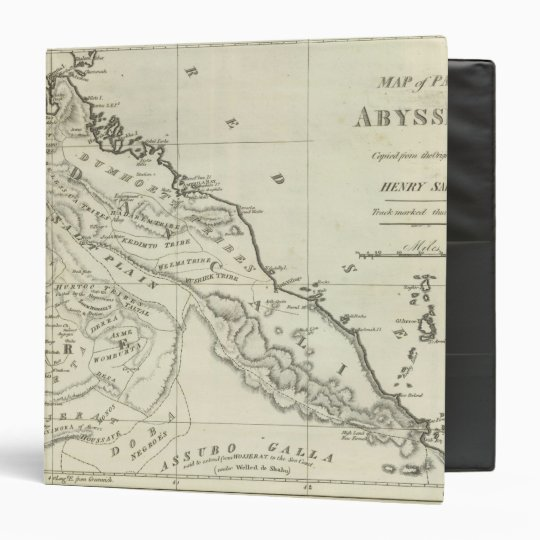 Map of Abyssinia Binder