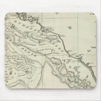 Map of Abyssinia Mouse Pad