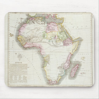 Map of Africa, 1821 Mouse Pad