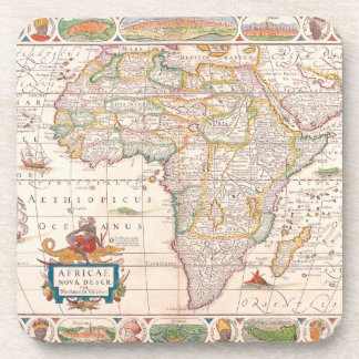 Map of Africa 2 Beverage Coaster