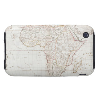 Map of Africa 2 Tough iPhone 3 Case