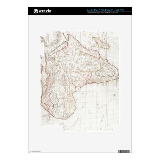 Map of Africa 2 iPad 3 Skins