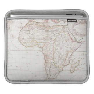 Map of Africa 2 iPad Sleeves