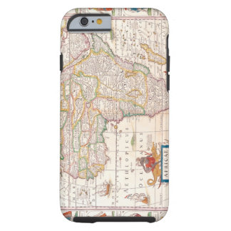 Map of Africa 2 Tough iPhone 6 Case