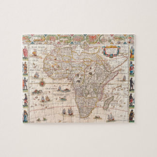 Map of Africa 3 Jigsaw Puzzles