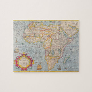 Map of Africa 4 Puzzle