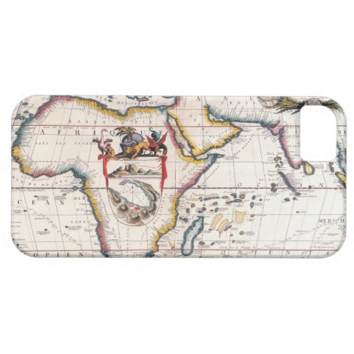 Map of Africa 5 iPhone 5 Covers