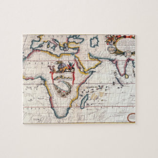 Map of Africa 5 Jigsaw Puzzle