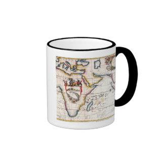 Map of Africa 5 Coffee Mugs