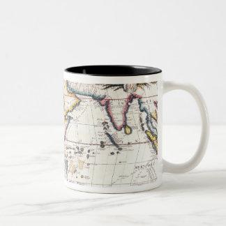 Map of Africa 5 Two-Tone Coffee Mug