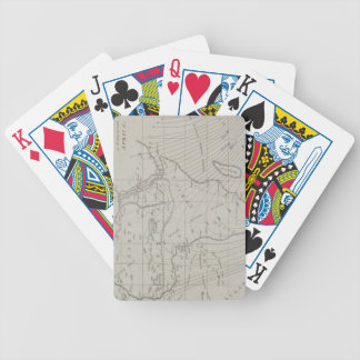 Map of Africa Bicycle Playing Cards