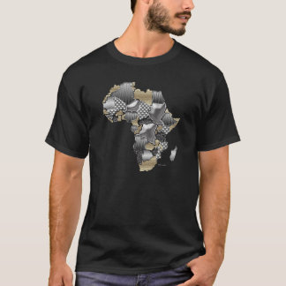 Map of Africa Blinging It T-Shirt