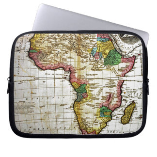 Map of Africa Laptop Sleeve