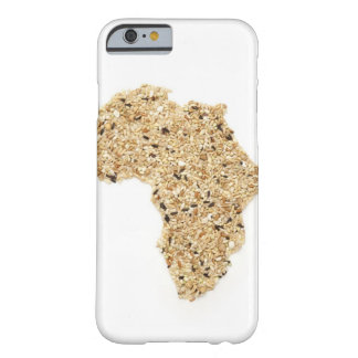 Map of Africa made of Cereals Barely There iPhone 6 Case