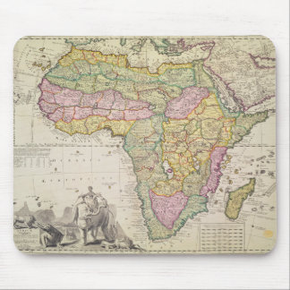 Map of Africa Mousepads