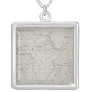 Map of Africa Pendant