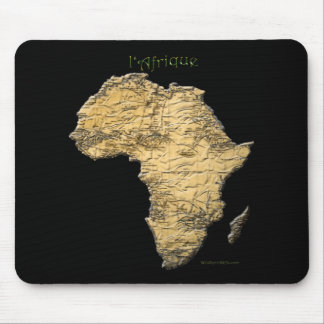 Map of AFRICA Series Mouse Pad