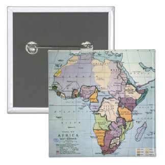 Map of Africa showing Treaty Boundaries, 1891 Button