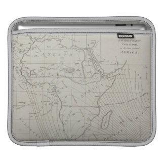 Map of Africa Sleeve For iPads