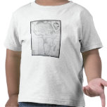 Map of Africa Tee Shirt