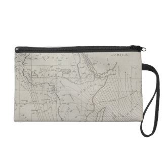 Map of Africa Wristlet