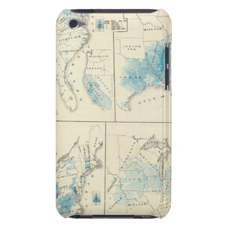Map of Agriculture and wealth by colors iPod Touch Cover