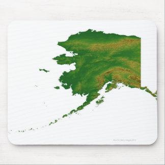 Map of Alaska 2 Mouse Pad