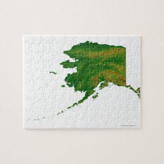 Map of Alaska 2 Puzzle