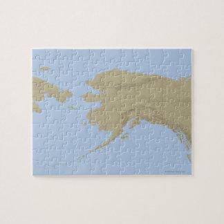 Map of Alaska 3 Puzzles