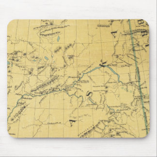 Map Of Alaska Mouse Pad