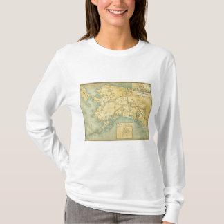 Map Of Alaska T-Shirt
