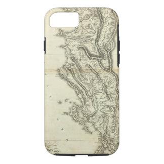 Map of Albania iPhone 7 Case