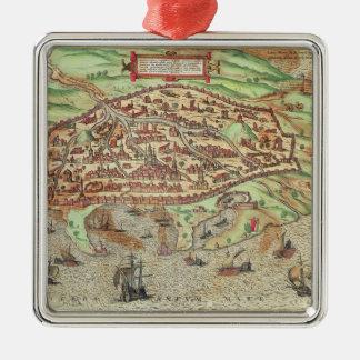 Map of Alexandria Ornament
