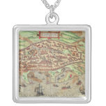 Map of Alexandria Personalized Necklace