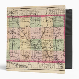 Map of Allegan County, Michigan Binder