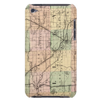 Map of Allegan County, Michigan Case-Mate iPod Touch Case