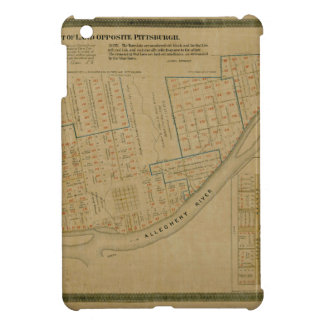 Map Of Allegheny 1863 Cover For The iPad Mini