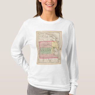 Map of Alpena County, Michigan T-Shirt
