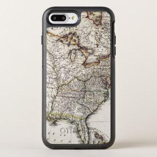 MAP OF AMERICA, 1809 OtterBox SYMMETRY iPhone 8 PLUS/7 PLUS CASE