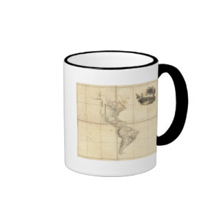 Map of America by A Arrowsmith Mug