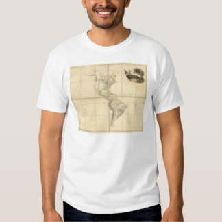 Map of America by A Arrowsmith T-shirt