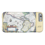 Map of Americas New World 1570 Barely There iPhone 6 Case at Zazzle