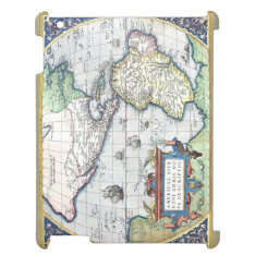 Map Of Americas New World 1570 Ipad Cases at Zazzle