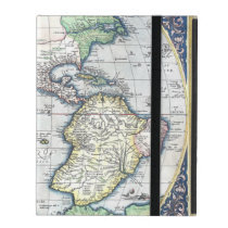 Map of Americas New World 1570 iPad Covers at Zazzle