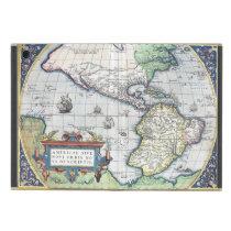 Map of Americas New World 1570 iPad Mini Cases at Zazzle