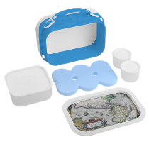 Map of Americas New World 1570 Yubo Lunchboxes at Zazzle