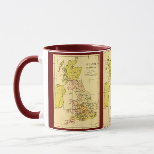 Map of Ancient Britain Mug
