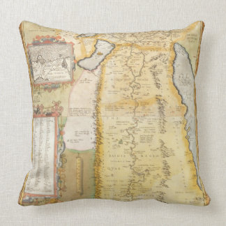 Map of Ancient Egypt, 1584 Pillow