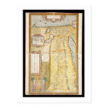 Map of Ancient Egypt, 1584 Postcard