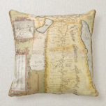 Map of Ancient Egypt, 1584 Throw Pillow